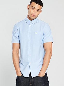 Lacoste Sportswear Lacoste Sportswear Short Sleeve Shirt - Blue Picture