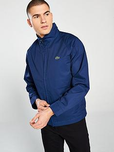597a796b7 Lacoste Sportswear Harrington Jacket - Blue