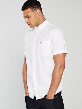 Lacoste Sportswear Lacoste Sportswear Short Sleeve Shirt - White Picture