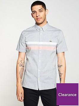 lacoste-sportswear-chest-stripe-short-sleeve-shirt-navy