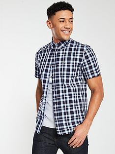 f8e6665e0880 Lacoste Sportswear Short Sleeve Check Shirt