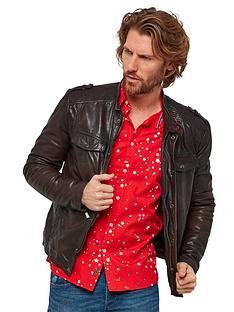 joe-browns-oxblood-biker-leather-jacket