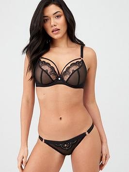 Curvy Kate Curvy Kate Surrender Plunge Bra - Black Picture