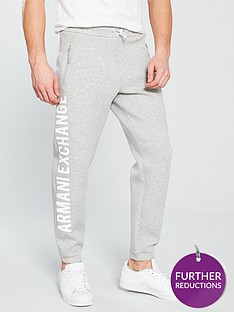 armani-exchange-leg-print-sweat-pants-grey-heather