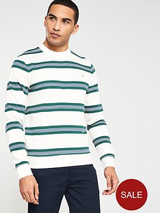 farah-wembley-striped-sweatshirt-ecru