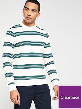farah-wembley-striped-sweatshirt-ecru