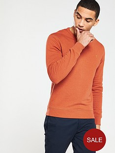 farah-tim-crew-neck-sweat-orange