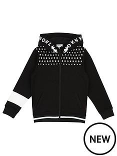 dkny-boys-logo-hooded-zip-through-jacket