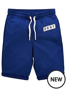dkny-boys-logo-jersey-shorts-blue