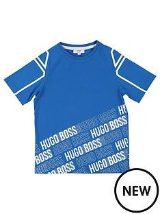 boss-boys-short-sleeve-multi-logo-t-shirt-turquoise