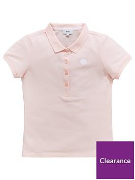 boss-girls-classic-short-sleeve-pique-polo-shirt-pale-pink