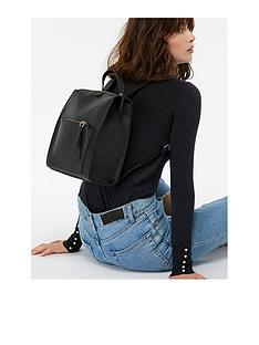 accessorize-milanbspfaux-leather-backpack-blacknbsp