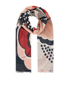 accessorize-bon-bon-retro-daisy-scarf