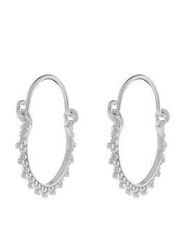 accessorize-sterling-silver-kerala-hoop-earrings