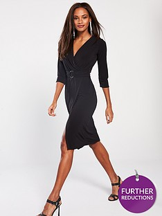 v-by-very-belted-ring-midi-dress-blacknbsp
