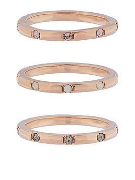 accessorize-z-range-3x-hammered-swarovskireg-rings-rose-gold