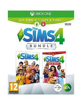 Xbox One Xbox One The Sims 4 + Cats &Amp; Dogs Bundle Picture