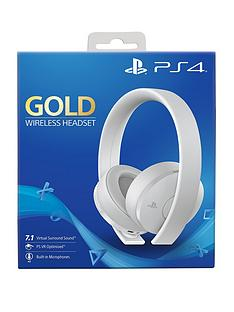 playstation-4-official-playstation-4-gold-wireless-headset-white-edition