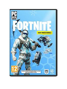 Pc Games Fortnite Deep Freeze Pc Littlewoods Com