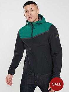 barbour-international-sevens-casual-jacket-greennavy