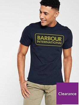 barbour-international-essential-large-logo-tee-navy
