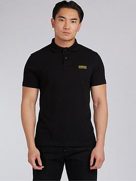 Barbour International Barbour International Essential Polo Shirt - Black Picture