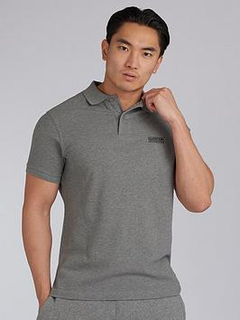 Barbour International Barbour International Essential Polo Shirt - Grey Picture