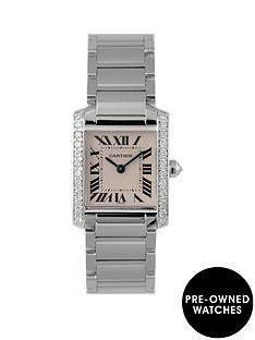 cartier-cartier-pre-owned-diamond-shoulder-tank-francaise-dial-stainless-steel-bracelet-ladies-watch-ref-2384