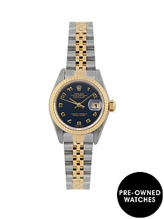 rolex-rolex-pre-owned-blue-arabic-jubilee-datejust-dial-two-tone-stainless-steel-bracelet-ladies-watch-with-original-certificate-ref-69173