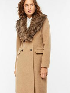 monsoon-harry-faux-fur-collared-coat-camel