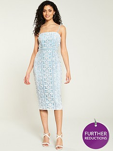 v-by-very-lace-bandeaunbspmidi-dress-blue