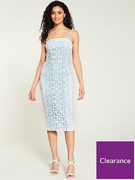 v-by-very-lace-bandeaunbspmidi-dress-blue