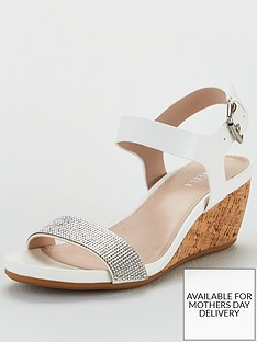 carvela-mid-heel-wedge-sandals-white