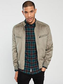 River Island River Island Bauer Suedette Racer Taupe Picture
