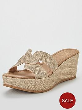 carvela-comfort-shelby-wedge-sandals-gold