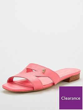 kurt-geiger-london-odina-flat-cut-out-sandals-pink