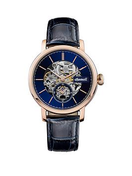 Ingersoll Ingersoll Ingersoll 1892 The Smith Blue And Rose Gold Detail  ... Picture
