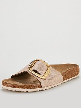 birkenstock-madrid-big-buckle-flat-sandals-metallic