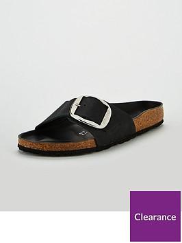 birkenstock-madrid-big-buckle-narrow-fit-flat-sandals-black