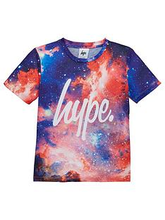 hype-boys-space-print-short-sleeve-t-shirt