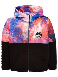 hype-boys-space-panel-zip-through-hoodienbsp--black