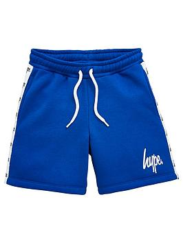 hype-boys-taped-jog-shorts-blue