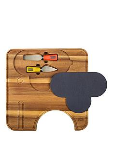 orla-kiely-cheese-board-with-knives-ela-elephant