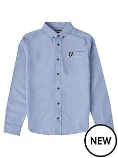 lyle-scott-boys-classic-long-sleeve-oxford-shirt-sky-blue