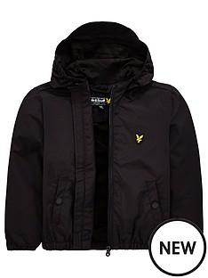 lyle-scott-boys-classic-hooded-wind-cheater-jacket-black
