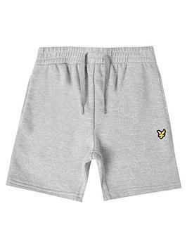 lyle-scott-boys-classic-sweat-shorts-grey