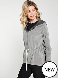 v-by-very-drawcord-jacquard-peplum-hoodienbsp--grey-marl