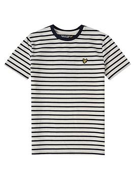 lyle-scott-boys-short-sleeve-breton-stripe-t-shirt-indigo