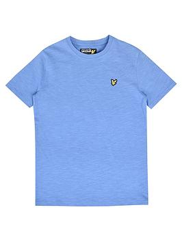 lyle-scott-boys-classic-short-sleeve-t-shirt-sky-blue