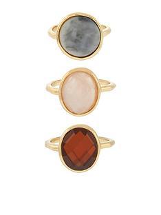 accessorize-x3nbspbon-bonnbspsemi-precious-stone-rings